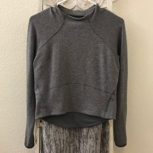 Lululemon crop sweater.